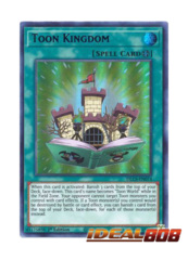 Toon Kingdom (Blue) - DLCS-EN074 - Ultra Rare - 1st Edition