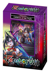 NLP Children of the Night (English) Force of Will Darkness Starter Deck