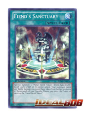 Fiend's Sanctuary - BP01-EN076 - Starfoil Rare - 1st Edition