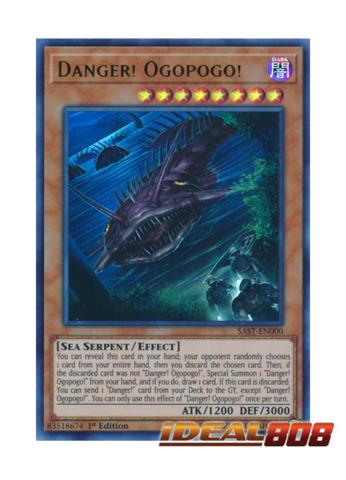 Danger! Ogopogo! - SAST-EN000 - Ultra Rare - 1st Edition