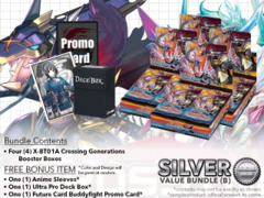 FC-Buddyfight X-BT01A Bundle (B) Silver - Get x4 Crossing Generations Booster Box + FREE Bonus Items
