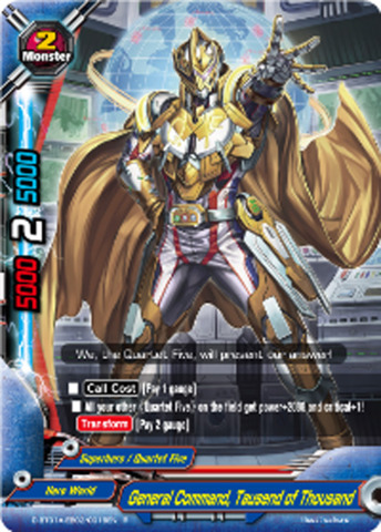 General Command, Tausend of Thousand [D-BT01A-EB02/0016EN R] English