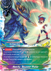 Notify: Skyseer Pulse [S-CBT01/0067EN C (FOIL)] English