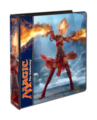 Magic the Gathering M14 2014 3-Ring Hard Cover Binder - Chandra Nalaar