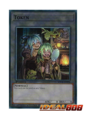 Token - SDCH-ENT04 - Super Rare - 1st Edition