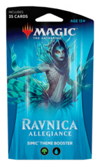 Ravnica Allegiance (RNA) Themed Booster Pack - Simic [35 cards]
