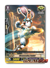 Chronovolley Rabbit - G-TD09/015EN - RRR (Hot Stamp Foil)