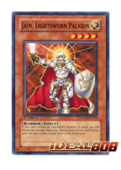 Jain, Lightsworn Paladin - LODT-EN018 - Common - 1st Edition