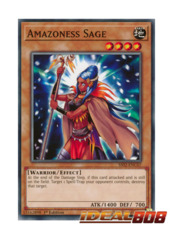 Amazoness Sage - SS02-ENC07 - Common - 1st Edition