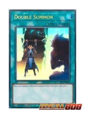 Double Summon - LCKC-EN091 - Ultra Rare - Unlimited Edition