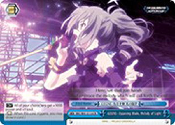 -LEGNE- Opposing Blade, Melody of Light [IMC/W41-E110R RRR (FOIL)] English