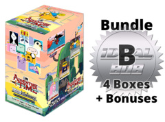 Weiss Schwarz Adventure Bundle (B) Silver - Get x4 Adventure Time Booster Boxes + FREE Bonus Items * COMING SOON