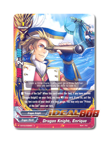 Dragon Knight, Enrique [H-BT03/0086EN C] English