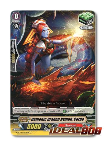 Demonic Dragon Nymph, Cordo - G-BT09/074EN - C