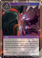 Fated Reunion [LEL-036 R (Foil)] English