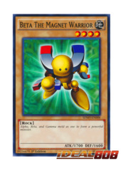 Beta The Magnet Warrior - SDMY-EN008 - Common - 1st Edition