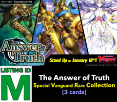 # The Answer of Truth [V-EB04 ID (M)] Special Vanguard Rare x1 [Includes 1 of each SVR's (3 cards)]