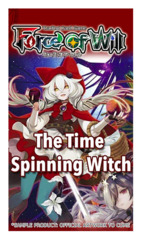 R03 The Time Spinning Witch (English) Force of Will Booster Pack + FREE Playmat & FoW Top Loaders * PRE-ORDER Ships Mar.9