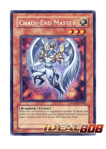MASTER GIG 3 X YU-GI-OH CARD RGBT-EN030-1st ED.
