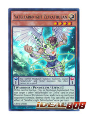Satellarknight Zefrathuban - CROS-EN020 - Ultra Rare - Unlimited Edition