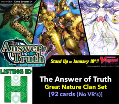 # The Answer of Truth [V-EB04 ID (H)]