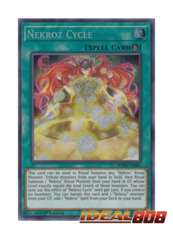 Nekroz Cycle - BLHR-EN086 - Secret Rare - 1st Edition