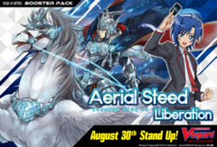 CFV-V-BT05 Aerial Steed Liberation (English) Cardfight Vanguard V-Booster  Case [20 Boxes] * PRE-ORDER Ships Aug.30