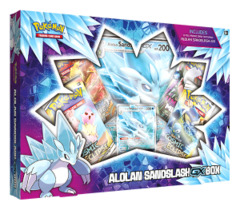Alolan Sandslash GX Box
