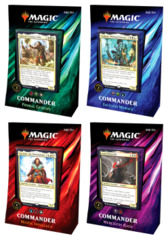 Commander 2019 (C19) Decks - Complete Set of 4 * PRE-ORDER Ships Aug.23