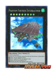Phantom Fortress Enterblathnir - INCH-EN052 - Super Rare - 1st Edition