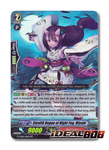 ICHINOSE G-PR//0240EN C STEALTH ROGUE OF RUNNING OFF CARDFIGHT VANGUARD CARD