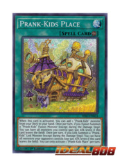 Prank-Kids Place - HISU-EN023 - Secret Rare - 1st Edition