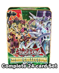 Yugioh ZeXaL Collection Tin 2013 Complete 24-Card Set (1st Edition/Limited Edition)