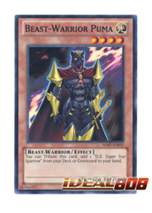 Beast-Warrior Puma - HA07-EN032 - Super Rare - Unlimited Edition