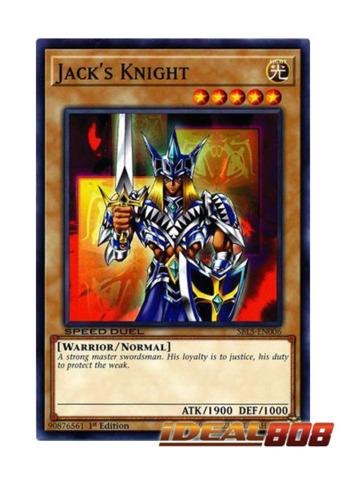 Jack's Knight - SBLS-EN006 - Common - 1st Edition