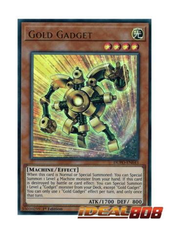 Gold Gadget - DUPO-EN043 - Ultra Rare - 1st Edition