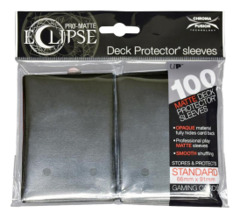 Ultra Pro Matte Eclipse Large Sleeves 100ct - Black (#85601)