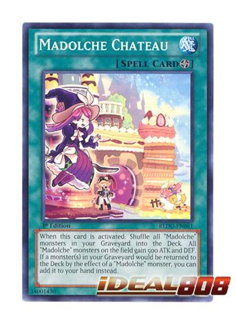 Common 1st ed. Madolche Chateau REDU-EN061