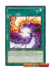 Fusion of Fire - SAST-EN057 - Rare - 1st Edition