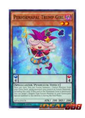 Performapal Trump Girl - MP16-EN178 - Common - 1st Edition