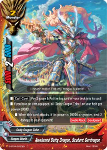 Awakened Deity Dragon, Scubert Gardragon [S-BT04/0050EN C (FOIL)] English