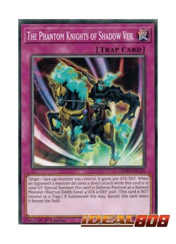 The Phantom Knights of Shadow Veil - LEHD-ENC24 - Common - 1st Edition