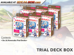 Konosuba (English) Weiss Schwarz Trial Deck+ (Plus) Box [Contains 6 Decks]