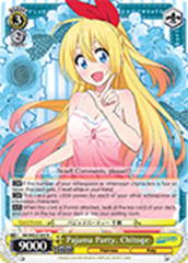 Pajama Party, Chitoge [NK/WE22-E02 R (FOIL)] English