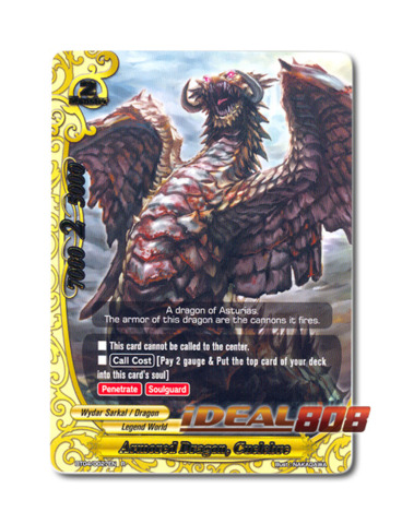 Armored Dragon, Cuelebre - BT04/0027EN (R) Rare