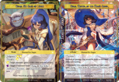 Zero, Six Sage of Light // Zero, Master of the Magic Saber [CFC-015 R (Foil Ruler)] English