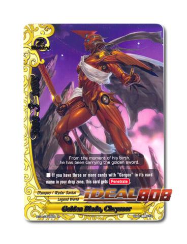 Golden Blade, Chrysaor - BT04/0028EN (R) Rare