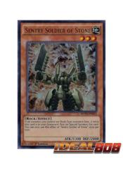 Sentry Soldier of Stone - MVP1-EN012 - Ultra Rare - 1st Edition