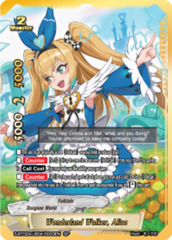 Wonderland Walker, Alice [S-BT02A-UB04/S003EN SP (GOLD FOIL)] English