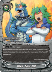 Give Your All! [S-CBT01/0030EN R (FOIL)] English